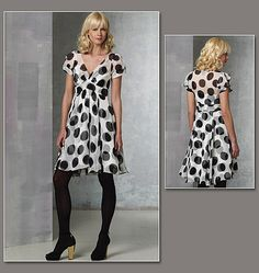V1160 | Misses' Dress And Slip | View All | Vogue Patterns