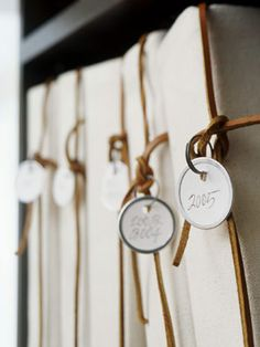 Creative Labeling for Home Organization
