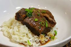 A Feast for the Eyes: Asian Style Boneless Beef Short Ribs - Pressure Cooker Style (or slow cooker)