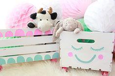 A Bubbly Life: DIY Toy Storage Crates Nursery