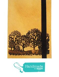 Leather Journal Handmade Pocket Notebook Natural Color Trees Made with Leather ink Blank paper from Art Break https://www.amazon.com/dp/B01LY5IAQG/ref=hnd_sw_r_pi_dp_ZnlgybRHMQYE5 #handmadeatamazon