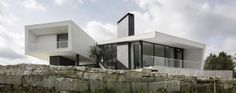 Modern house in Portugal (Vidigal House)  by Contaminar Arq