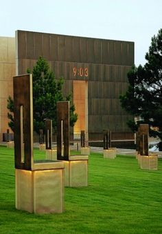 When heading to Fort Sill, Oklahoma to attend sons BCT graduation we stopped and visited the Oklahoma City Bombing Memorial.