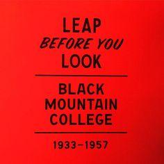Finally got to see it tonight. Caught a performance too. #bostonarts #type #art #exhibition #blackmountaincollege