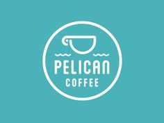 Pelican Coffee Logo by Ken Zakovich