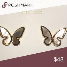 Kate spade butterfly 🦋 earrings Kate spade butterfly 🦋 earrings kate spade Jewelry Earrings