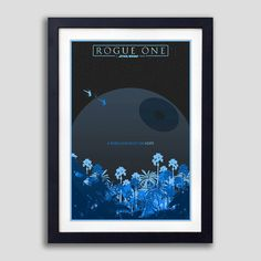 Official Rogue One Poster, Rogue One Print, Rogue One Movie Poster, Rogue One A Star Wars Story, Rogue One Fan Poster, Rogue One Minimalist
