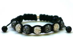 Wood Junkie Wood Junkie Shamballa Black and Silver Diamonds - Urban Classics-Shop.nl