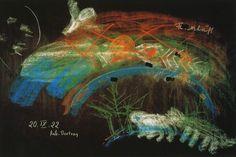 Rudolf Steiner's Chalkboard
