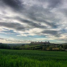 Monteriggioni tra le nubi Italy, Celestial, Mountains, Sunset, Nature, Travel, Outdoor, Self, Outdoors