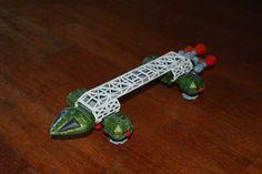 Spazio 1999 - Dinky Toys - Transporter Eagle