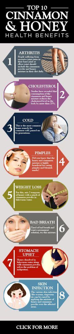 Top 10 Cinnamon And Honey #Health Benefits