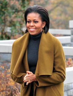 First Lady Michelle Obama --Fisher House, Bethesda Maryland