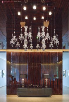 WINDFALL Chandeliers - The Balance in Tatler Homes - project by Design Basis