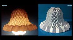 Lampada Origami Di Edward Chew : Die besten bilder von lampen zeitungspapier flechten