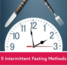 5 Intermittent Fasting Methods - Which One Is Right for You? very helpful!