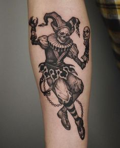Wicked Tattoos, Creepy Tattoos, Badass Tattoos, Skull Tattoos, Body Art Tattoos, Tattoos For Guys, Sleeve Tattoos, Tattoo Art, Black Ink Tattoos