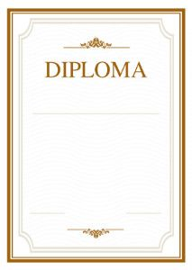 The Diploma Template Open Space You Can Use This Template Open