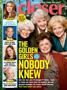 Golden Girls Betty White and Bea Arthur were not as congenial off set Paula Faris, Dorothy Zbornak, Bea Arthur, Celebrity Magazines, Betty White, Tom Hanks, Celine Dion, Golden Girls, Celebrity News