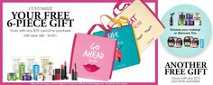 Lancome GWP at Dillards - summer of 2017. http://cliniquebonus.org/lancome-gift-with-purchase/