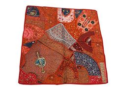 """India Inspired Vintage Sari Tapestry Home Decor Wall Hanging Throw 40""""x40"""" Mogul Interior http://www.amazon.com/dp/B00L9Y4UXO/ref=cm_sw_r_pi_dp_rG4Qtb0PZNH4H019"""