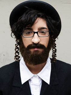 Hasidic Jew 2 by Cole Riccio Makeup, via Flickr