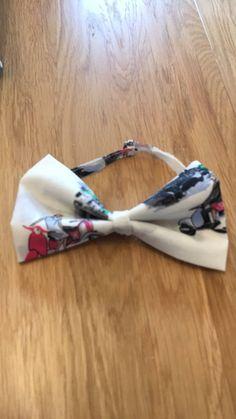Handmade bow tie. Newborn by BeautifulDarlingUK on Etsy
