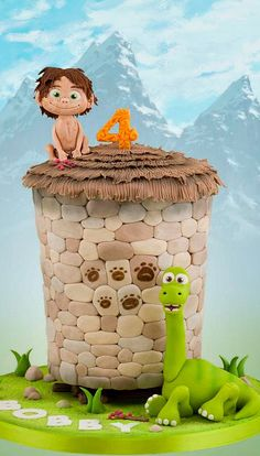 The Good Dinosaur Cakw