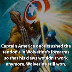 There is a reason why Wolverine is one of my favorites.