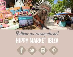 Follow us everywhere!  Facebook: www.facebook.com/hippymarketibiza  Twitter: www.twitter.com/hippymarketnl     Instagram: www.instagram.com/hippymarketnl   #sneakpeek in the picture!  Namaste,  Team Hippy Market Ibiza