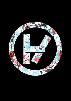 Twenty One Pilots Logo. To me...it means hope...hope that one day I won't feel as if I'm drowning in my mind...hope that I can be the person I need to be for myself and for my family....Fucking love this band