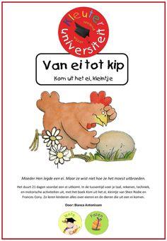 Kom uit het ei kleintje - van ei tot kip - Juf Bianca bij Kleuteruniversiteit