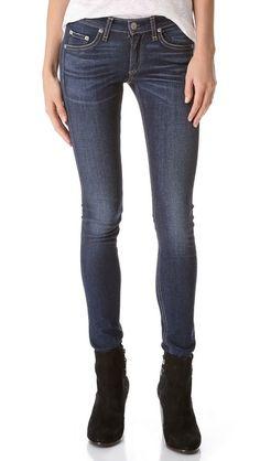Rag & Bone/JEAN The Skinny Jeans - Rag & Bone Jeans fit so well.