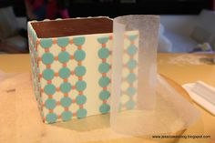 Jessicakes: Gift Box Cake Tutorial