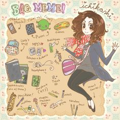 BAG MEME : D by *pearsfears on deviantART