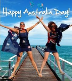 If you're not lucky enough to be an Aussie on Australia Day, well, it sucks to be you! Largest Countries, Cool Countries, Penal Colony, Happy Australia Day, Work Camp, Today In History, British Government, Rock Pools, New Zealand