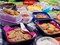 Makuja kotoa: Kinkku-parmesan skonssit ja yrttilevite Tacos, Mexican, Chicken, Meat, Ethnic Recipes, Food, Essen, Meals, Yemek