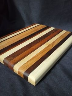 Wooden Cutting Board Handmade of Mixed by LiebermannWoodworks