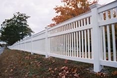 Vinyl Capped Sudbury Fence This Elegant Fence With A