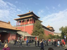 Shops and Merchants in Tiananmen Square