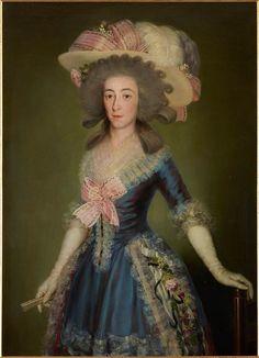 The Countess-Duchess of Benavente, Francisco de Goya, 1785