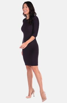 Tees by Tina 'Crinkle' Maternity Dress | Nordstrom