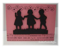 cicut a childs year | ... : Sillhouette Card Friends - Using Cricut Cartridge A Child's Year