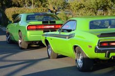 1971 & 2011 Dodge Challenger. This is HOT