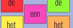 Taalspel: lidwoorden oefenen