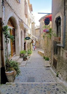 village in France, Saint-Paul-de-Vence provence The Places Youll Go, Places To See, La Provence France, Provance France, Ville France, Beaux Villages, Destination Voyage, French Countryside, South Of France