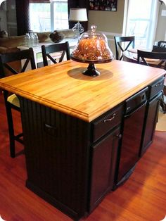 So doing this to my kitchen island!
