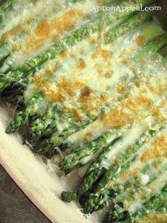 Asparagus Gratin. Looks delicious!