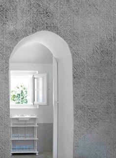 l'Opificio collection by Inkiostro Bianco at Maison & Objet Interior Design Inspiration, Design Ideas, Interior Decorating, Decorating Ideas, Wall Decor Design, Wall Finishes, Wall Shelves, Wall Stickers, Adobe