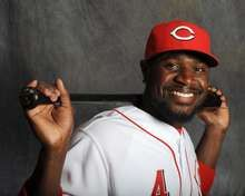 Brandon Phillips  class act player. Have seen him pray before each game. He goes to one knee. You don't find many professional's do that.